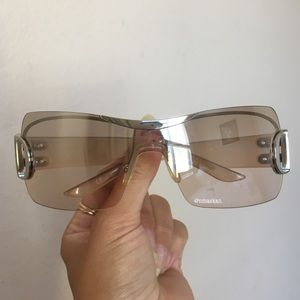 Authentic Christian Dior Airspeed Peach Sunglasses